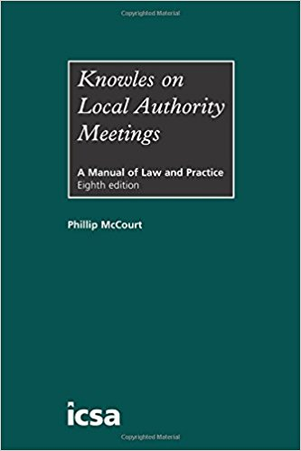 Knowles on Local Authority Meetings