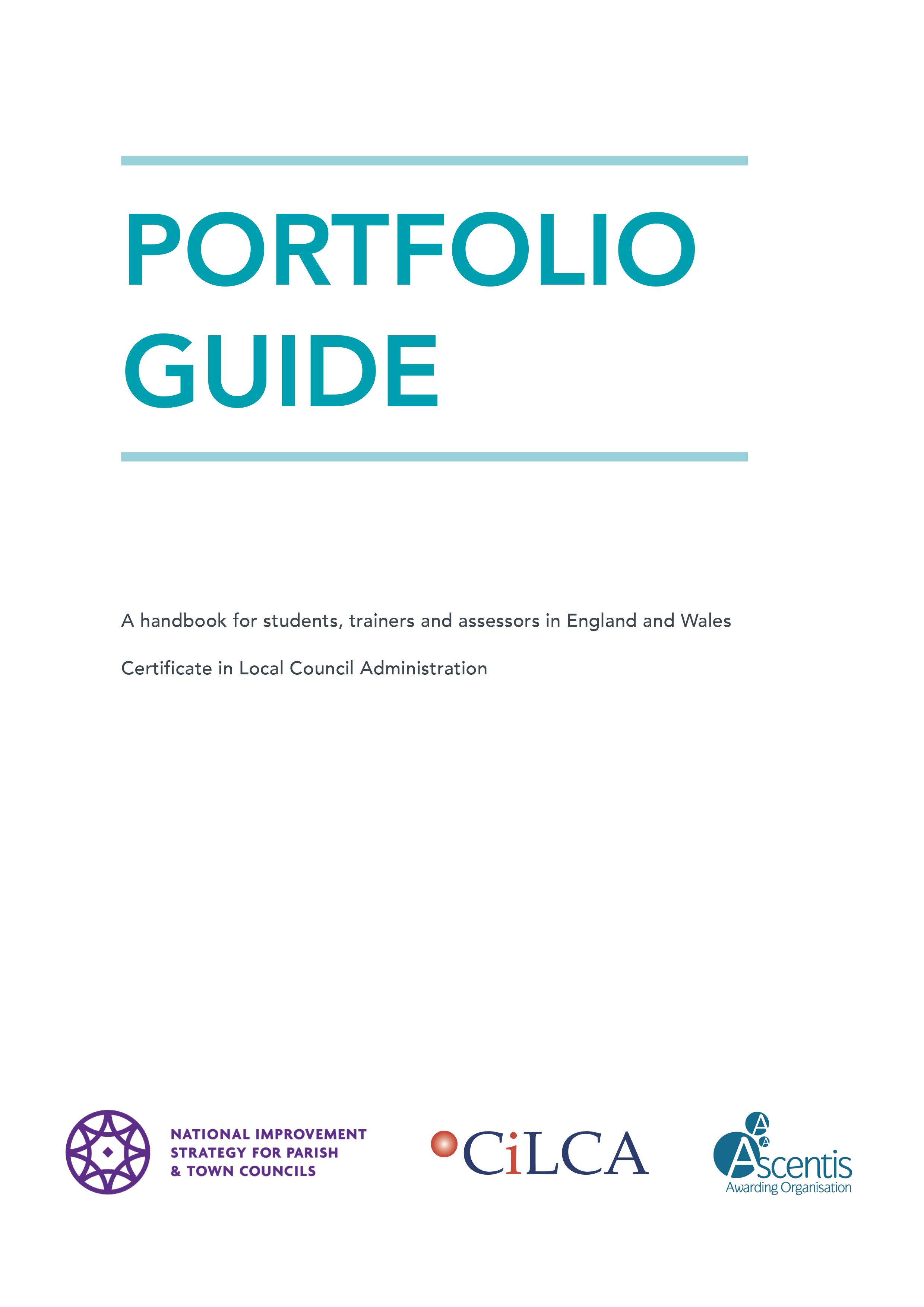 2021 CiLCA Portfolio Guide