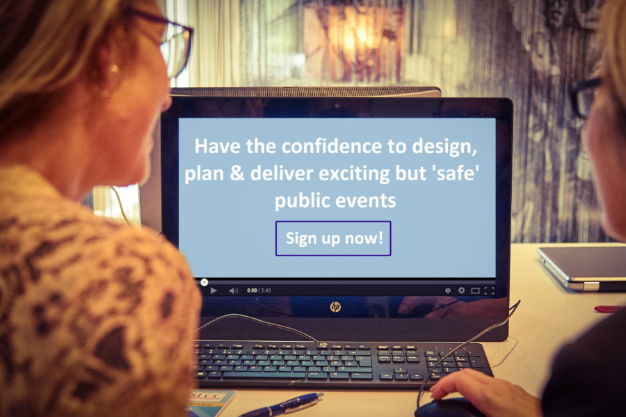 How to organise safe & successful events