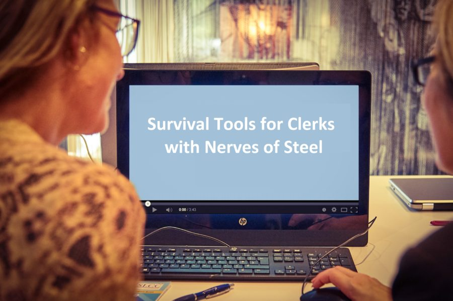 Personal Resilience - Survival Tools for Clerks with Nerves of Steel