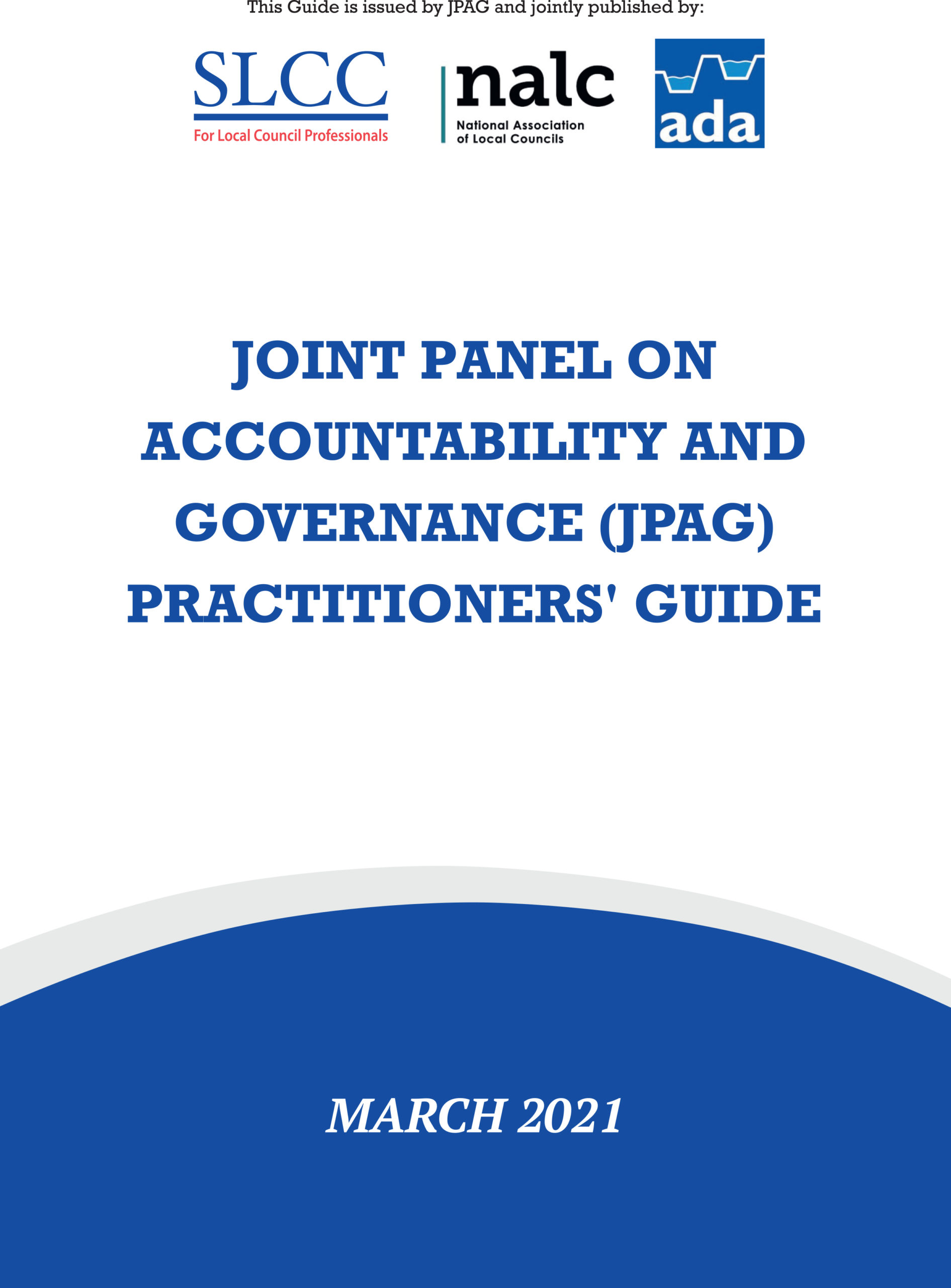 Front cover of the Practitioners Guide 2021